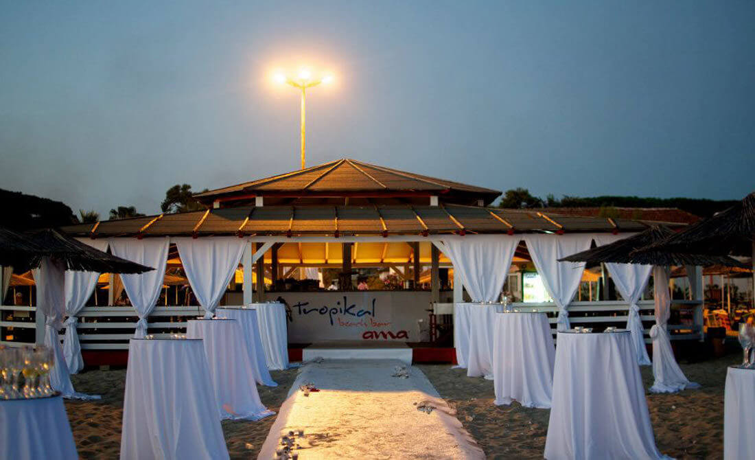 Tropical Resort Event
